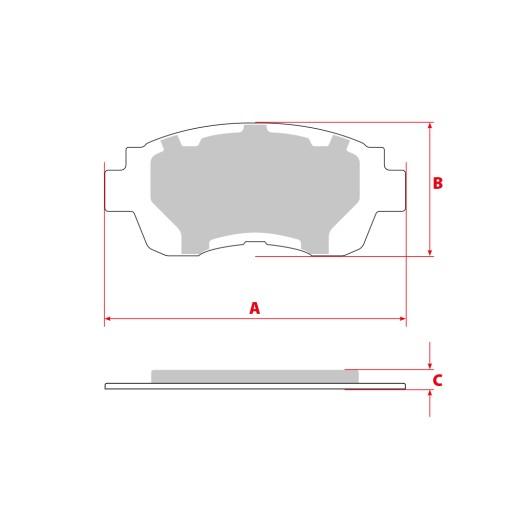 TARCZE I KLOCKI AUDI A6 C6 A8 321mm SPORT GT PRZOD
