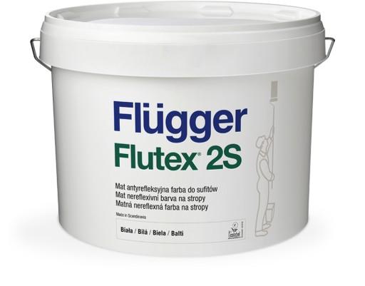 Flugger Flutex 2s Farba Sufitowa Biala 10l Mat 7663146530 Allegro Pl