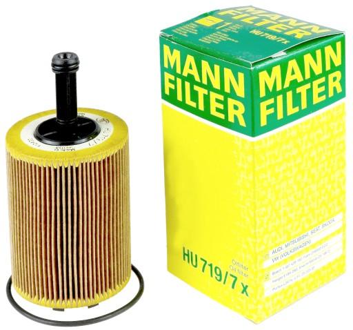 Filtr Oleju Audi A3 A4 B7 B8 A5 A6 20 Tdi Mann 7022289313 Allegropl