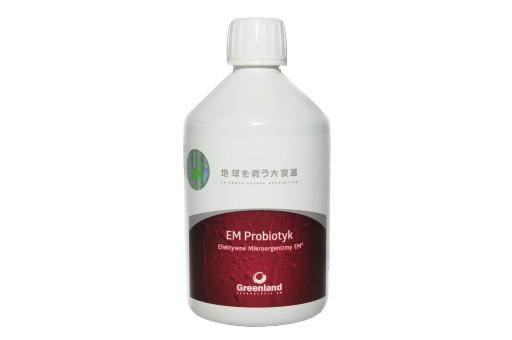 EM Probiotyk Efektywne Mikroorganizmy 0,5l