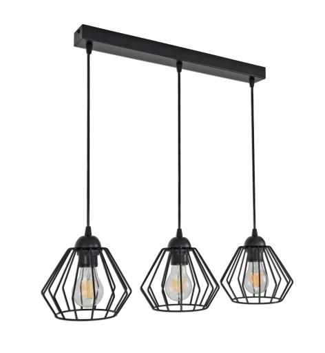 LAMPA WISZĄCA SUFITOWA ŻYRANDOL BRYLANT LED 724 B3