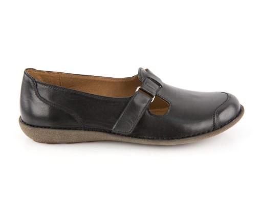 damskie buty skóra czarne rozmiar 38 nowe