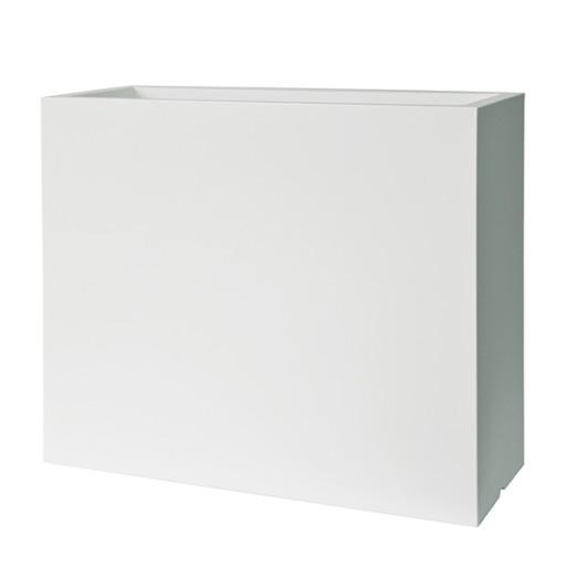 Kube Podłużne Wysokie Białe Donice 100x4070 Cm