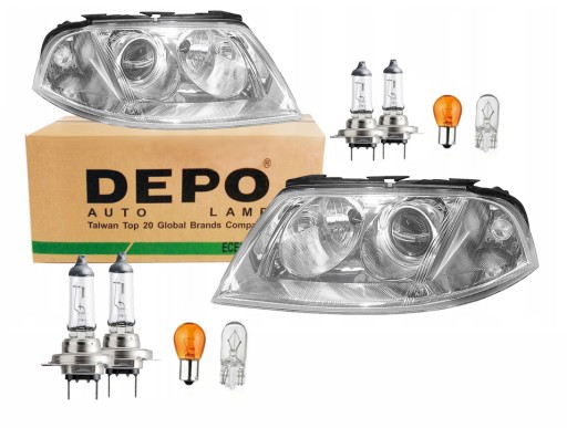 Vw Passat B5 Fl 00 05 Lampy Reflektory Depo Zarowk Myslowice Allegro Pl