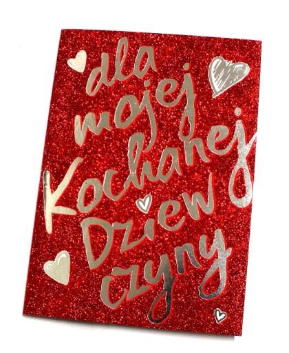 Kartka Dziewczyny Dziewczyna Zyczenia Walentynki 7205791426 Allegro Pl
