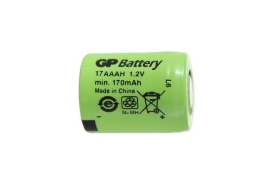 436b6544d2c46 Akumulator GP 1/3 AAA 17AAAH 170mAh NiMH 1,2V 7017891396 - Allegro.pl