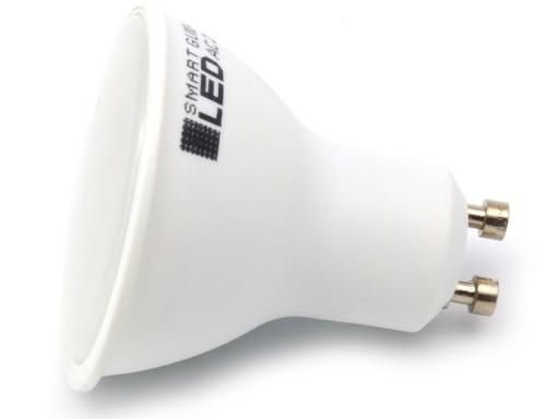 Żarówka GU10 LED 2835 SMD 3W RA80 / 3 BARWY