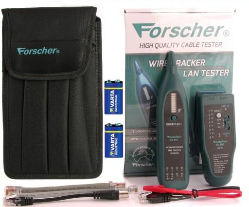Precyzyjny Szukacz Par Tester LAN FS807 FORSCHER