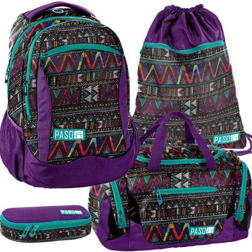 Plecak Szkolny Mlodziezowy Zestaw Dla Dziewczyny 9677456444 Allegro Pl