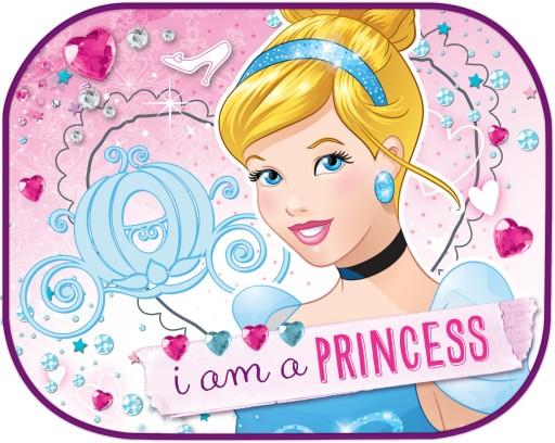 2x OSŁONY PRZECIWSŁONECZNE 44x35 ZASŁONK Princess