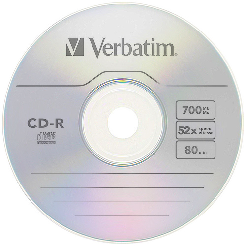 Plyta Verbatim Cd R 700mb 52x 1 Sztuka W Kopercie Sklep Komputerowy Allegro Pl
