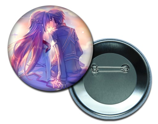 Przypinka Sword Art Online anime manga button 58mm