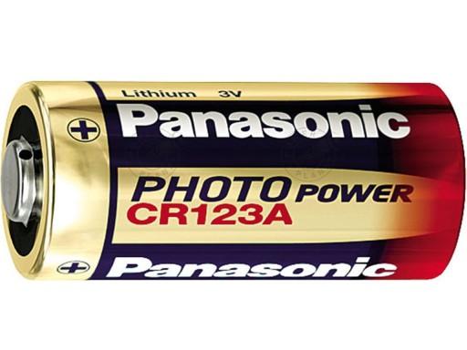 PANASONIC BATERIA CR123 DL123 CR17345 123A CR123A