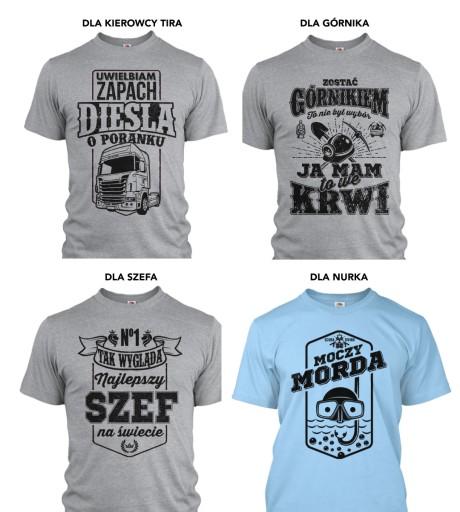 koszulka Pszczelarz KRÓL PASIEKI - KOLORY ZW28 XL 9915725871 Odzież Męska T-shirty WM CSFHWM-3