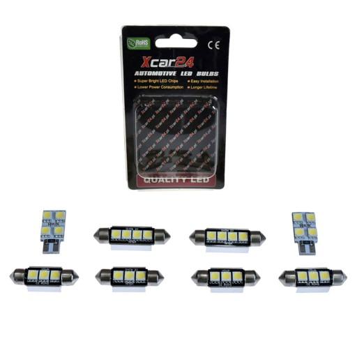 Audi A3 8p Hatchback Oświetlenie Wnętrza Led