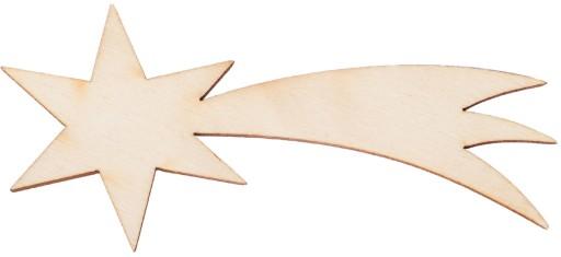 Drewniana Gwiazdka Gwiazda Na Choinkę 8cm Dekor 7065313948 Allegropl