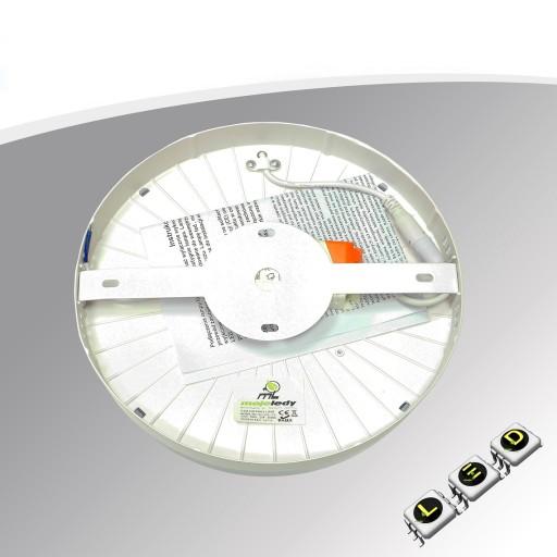 Plafon Lampa oprawa LED sufitowa natynk 24W