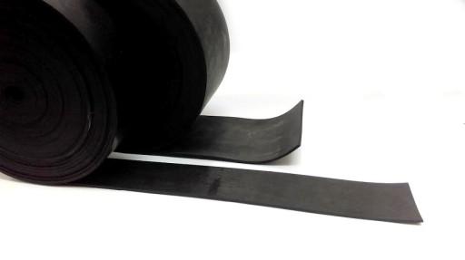PAS, sznur gumowy, taśma, uszczelka 3mm x 80 mm