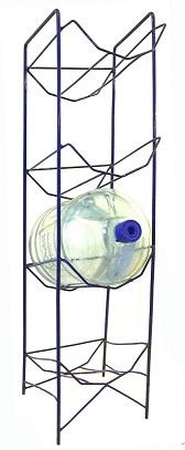 Stojak na butle z wodą (galony) 4 poziomy