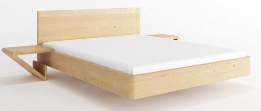łóżko Laos 200x220 Lewitujące łóżko Brzozowe