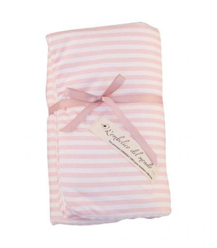 L'OMBELICO DEL MONDO kołderka niemowlęca PINK