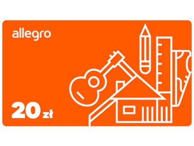 Karta Podarunkowa Allegro 20 Zl 5838136239 Allegro Pl