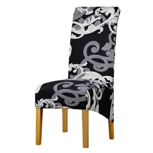 Pokrowiec Na Krzeslo Elastyczny Xl Duze 7584149344 Allegro Pl
