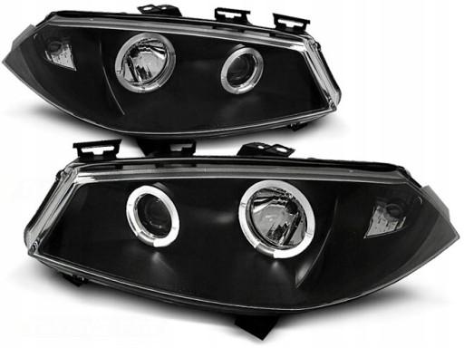 Lampy Renault Megane 2 Ii 02 05r Angel Eyes Ringi Knurow Gliwice Allegro Pl