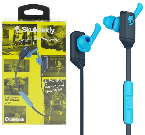Słuchawki sportowe Skullcandy xtFREE bluetooth