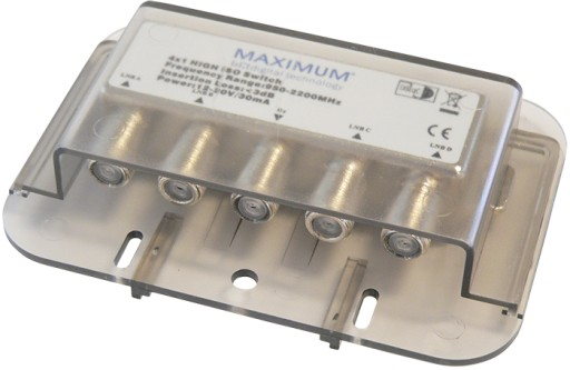 Przełącznik Maximum DiSEqC 4/1 HEMM