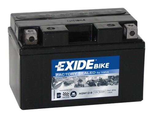 Honda CBR  500 R  akumulator EXIDE  f .VAT