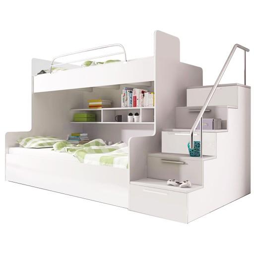 łóżko Piętrowe Raj 2 Stelaże Materace 5800872078 Allegropl