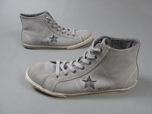 fabrycznie autentyczne najniższa cena szczegółowe zdjęcia CONVERSE ONE STAR skórzane buty sportowe 37,5
