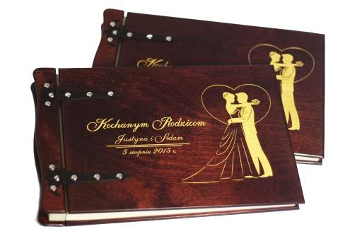 Podziekowanie Dla Rodzicow Album Drewniany 2sztuki Fotografia Sklep Internetowy Allegro Pl