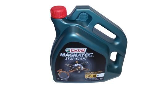 OLEJ CASTROL MAGNATEC START-STOP A5 5W30 4L