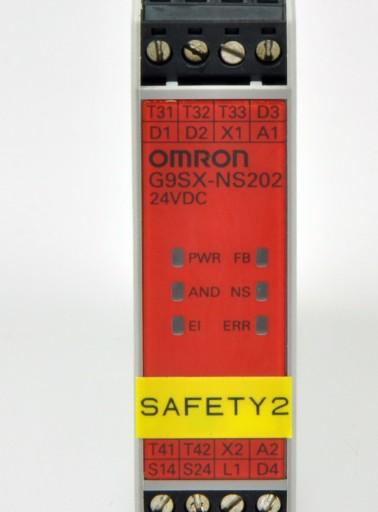 G9SX-NS202-RT OMRON Przekaźnik bezpieczeństwa