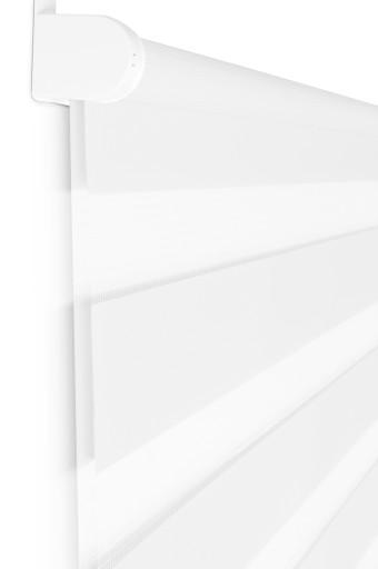 Roleta Dzień Noc mini 150x220 biały szary grafit