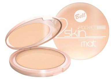 Bell 2 Skin Pocket Mat puder 043 BEIGE 9g