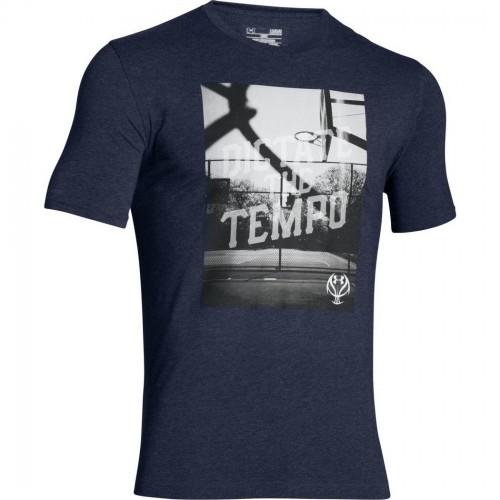 1fe27f9fd UA Dictate The Tempo Tee Koszulka Rozm L - 30% 7673070384 - Allegro.pl