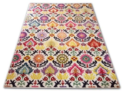 Stylowe Dywany Folk Fryz Folkowe 200x290 7 Wzorów