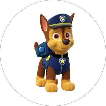 Opłatek Na Tort 14 Cm Psi Patrol Paw Urodziny 6759066136 Allegropl