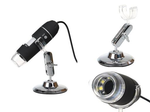 Mikroskop cyfrowy usb 2 mpx przybliŻenie 800x 7155299482 allegro