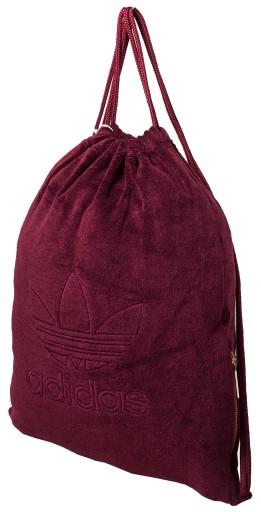 cf909cdbe6cf2 ADIDAS wyjątkowy worek torba plecak z kiesz na zam (7215746055 ...