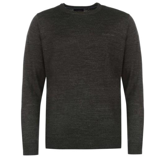 Sweter Męski Pierre Cardin modny M okrągły od ręki