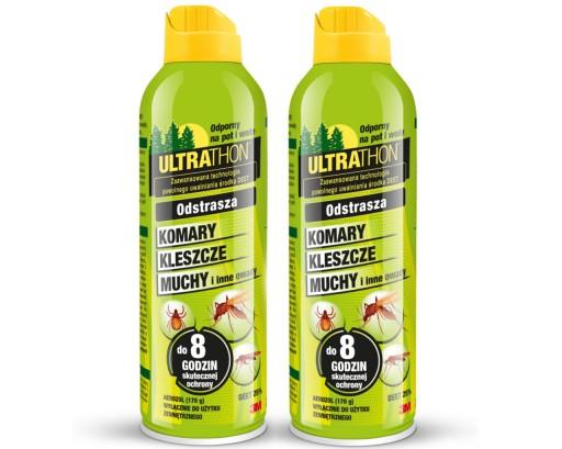 Ultrathon Spray Na Komary I Kleszcze 25 Deet 2szt 7400492132 Allegro Pl