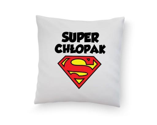 Poduszka Z Nadrukiem Super Chłopak Wzory Prezent