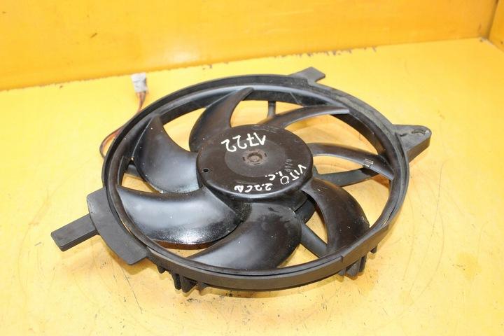 вентилятор радиатора vito w638 2.2 cdi