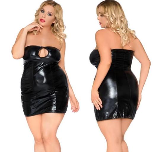 seksowna sukienka XXXL 3XL 50 52 dla puszystej 4935904848 Odzież Damska Sukienki wieczorowe SO KKIRSO-3