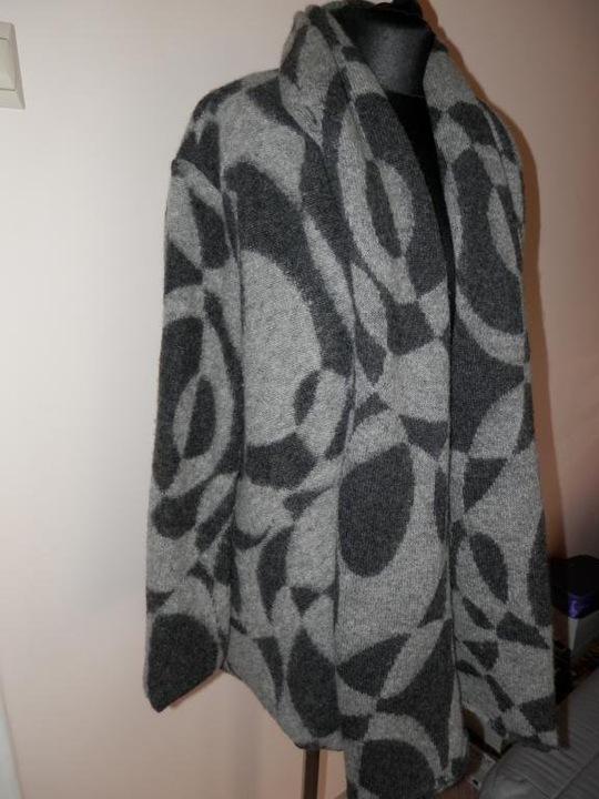 ZARA BASIC kardigan wool XL 7109025140 Odzież Damska Swetry XN KSZTXN-5
