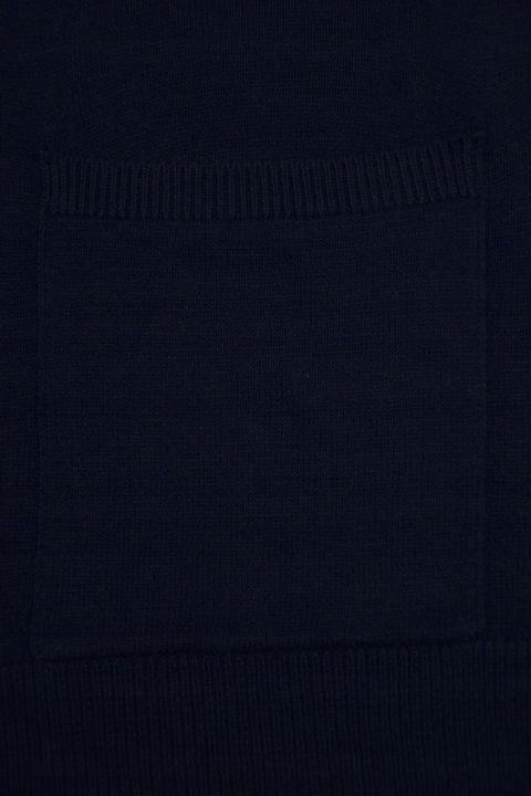F&F Granatowa Narzuta Sweter Oversize 44/46 9433750591 Odzież Damska Swetry YK OVKHYK-4